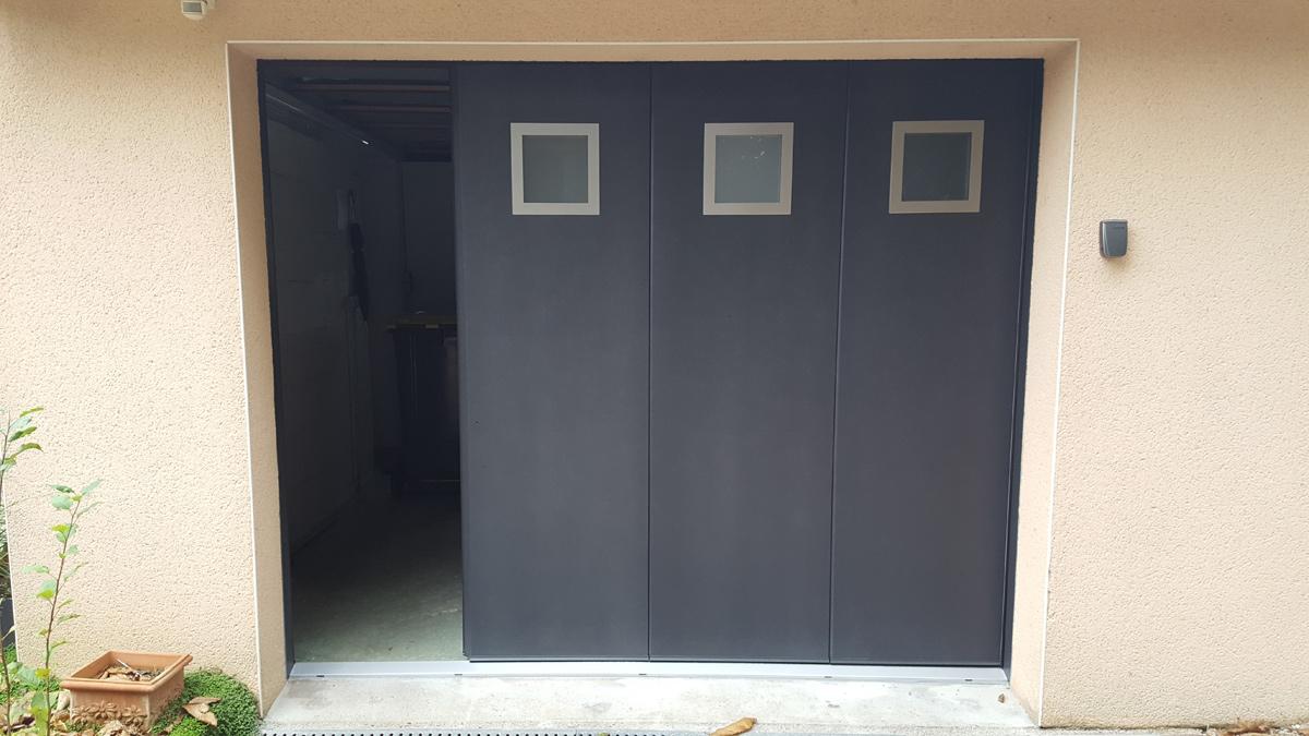 Installation d 39 une porte de garage landerneau mvm - Installer une porte de garage ...