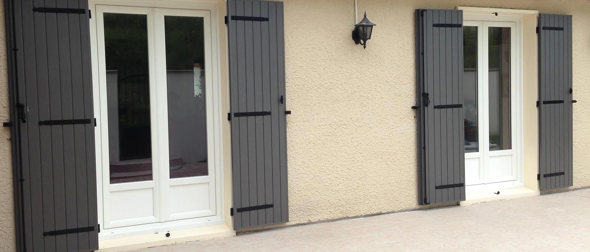 volets battant aluminium type apollon sib mvm. Black Bedroom Furniture Sets. Home Design Ideas