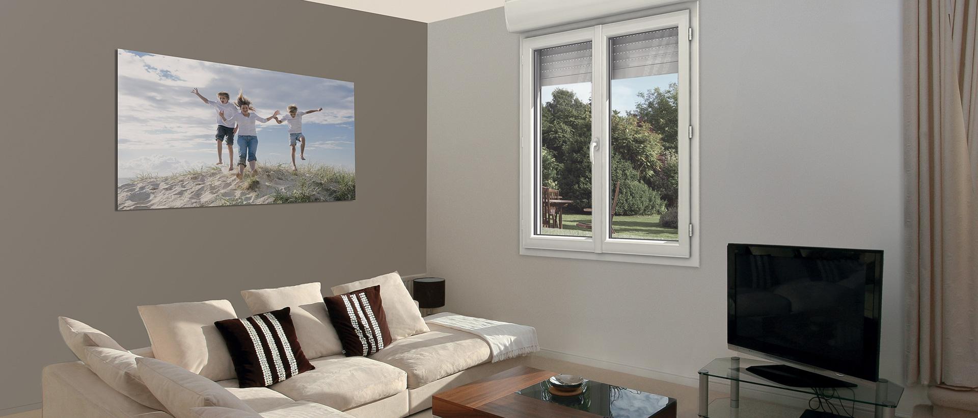 menuiserie pvc exc o design volet roulant int gr mvm. Black Bedroom Furniture Sets. Home Design Ideas
