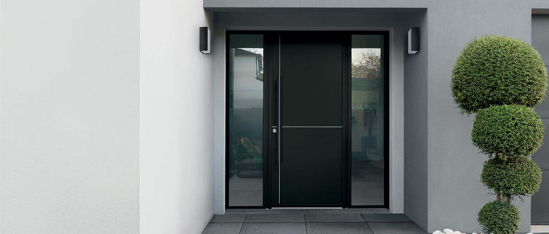 porte d entr e type intuition k line mvm. Black Bedroom Furniture Sets. Home Design Ideas